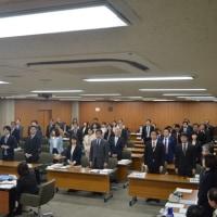 予算委員会最終日、うちの会派「無所属・世田谷行革110番」は「平成29年度一般会計予算案」に反対しました!