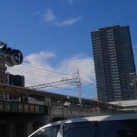 本日今宮戎駅北西上空地震雲