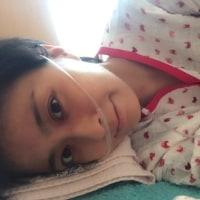 小林麻央が「鼻にチューブ」写真