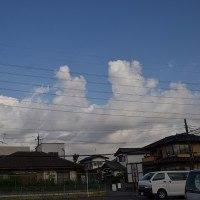 4月28日、午前6時~7時過ぎの空模様