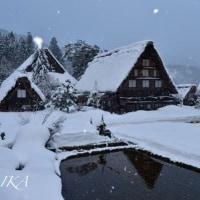 雪景色。。。白川郷☆