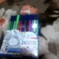 色鉛筆のおうどいろ