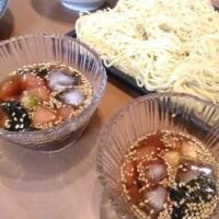 トマトゴマの、冷たいツルツル麺