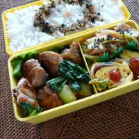 お弁当(鶏もも肉のソテー・野菜ソース)