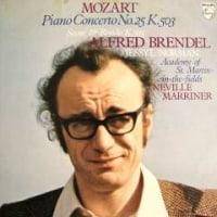 ◇クラシック音楽LP◇ブレンデル&マリナーのモーツァルト:ピアノ協奏曲第25番 ほか