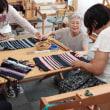 VEL TRAから ランチョンマットの手織り体験      竹島クラフトセンター