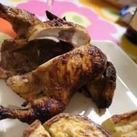 ちょっと早めの鶏の丸焼き(^^♪