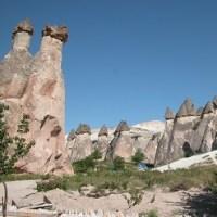 「エジプト・トルコ旅行記」 №93 奇岩群この日の最後の見学