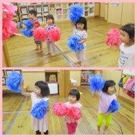 ✩★ひまわり組(3歳児クラス)ポンポン作り★✩