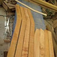 八本脚ベンチの製作