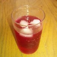 初挑戦、赤しそジュース