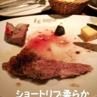 赤身肉でお腹一杯(^^♪
