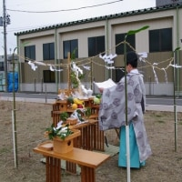 3月2件目の地鎮祭でした。