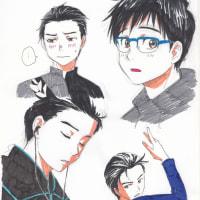 ユーリ!!! on ICE【4】落書き2