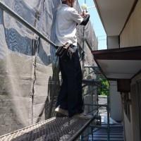 岡山市中区の住宅で軒裏ボードの取替え工事も無事完了