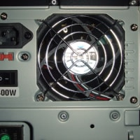 PC電源ファン交換