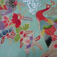 昭和初期の花嫁衣装からダリアを作りました