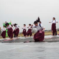 ふるさとの祭典市情報15「松山女子高校書道部パフォーマンス」