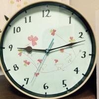 掛け時計をリメイク