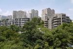 六甲山の集合住宅(その1)