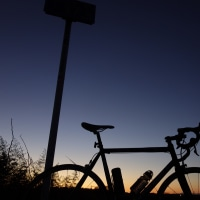 年の瀬夜までラン41km@久慈川サイクリングコース