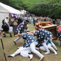 『国府祭』 暴れ神輿