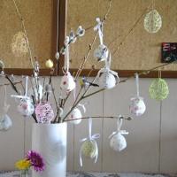 春の飾り付け&新聖句