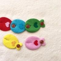 知育玩具オーダー『お魚さんのボタンつなぎ』
