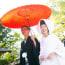 福岡住吉神社の結婚写真その2 撮影:森永健一