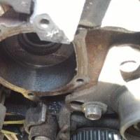 H56A パジェロミニ タイミングベルト交換3