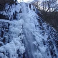 速報 氷瀑 白猪の滝