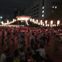 納涼盆踊り大会が戻ってきました