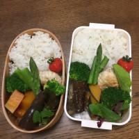 鶏むねミンチと豆腐の照り焼きハンバーグ弁当