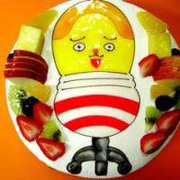 今日も描き描き☆塗り塗り♪キャラクターケーキ!