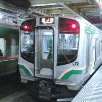 次郎くん常磐線に乗る