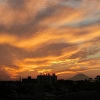夕映え富士山 2016横浜 必塗マン