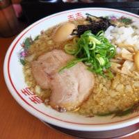 吟醸煮干 灯花紅猿@四谷三丁目 「半熟味玉煮干らぁ麺」