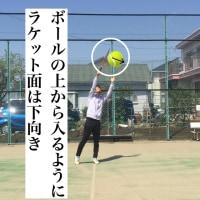 ボレー フォアハンドハイボレー(ラケットワーク)のポイントについて  〜才能がない人でも上達できるテニスブログ〜
