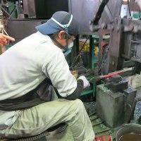 刃物工場見学。