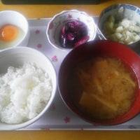 朝食。。。