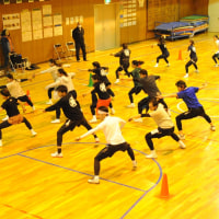 11月20日 朝霞八小体育館での夏舞徒