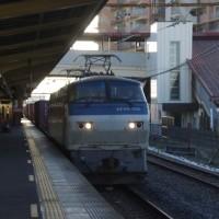 EF66-102号機@吹上駅