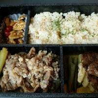 うまいもん 神戸のすきやきとステーキ弁当(淡路屋)