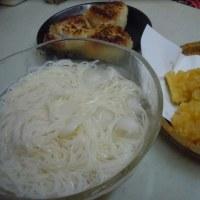 暑いですね  (´・ω・`;A)  「素麺」始めました♪