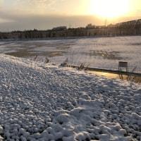 最後の雪景色?