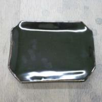 井上さんの四角皿(還元焼成)
