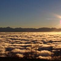 雲海と日の出・・・・たまには早起きもいいかも♪
