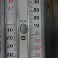 平成29年4月24日・今朝の東祖谷4.1℃