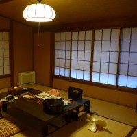 箱根旅行 2016年7月 おくど茶寮 利休庵 到着&お部屋