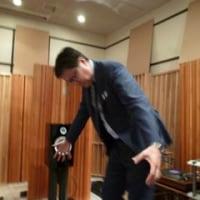三菱スピーカー(試作品)の試聴会に参加しました。